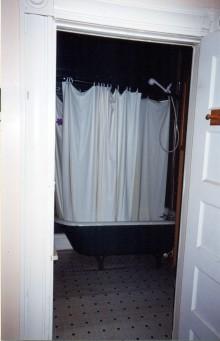 Bedroom view to Bathroom