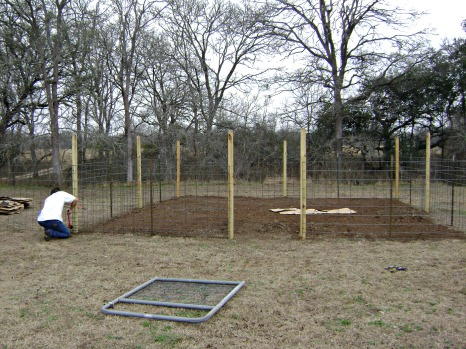 Adding fence panels