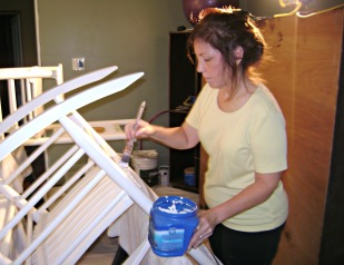 Painting rocking chairs